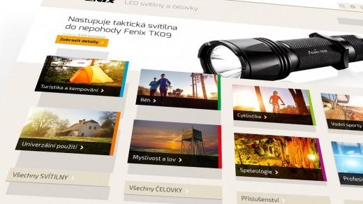 Náhledový obrázek - Spustili jsme nový web svitilny-fenix.cz – vítáme Vás